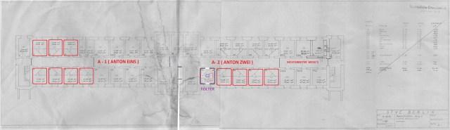 Forschiungsergebnis aus dem Landesarhiv Berlin - Architektenzeichnung