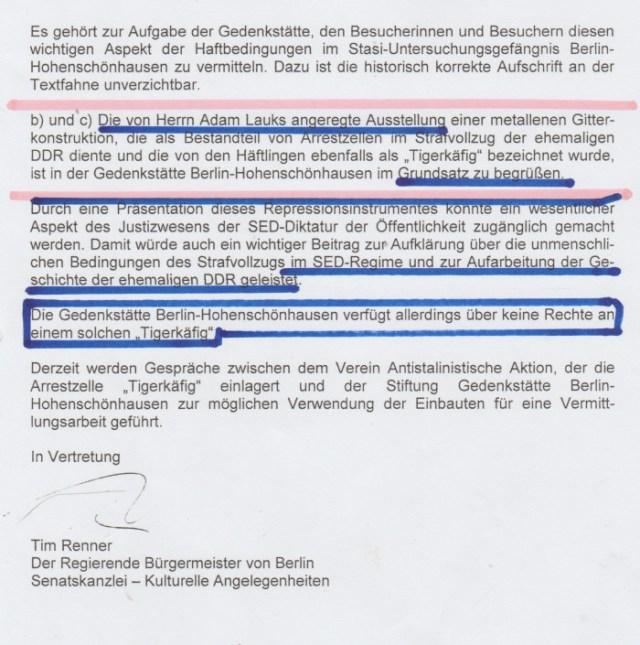 Aufarbeitung der Repression im Strafvollzug der DDR BEGINNE !