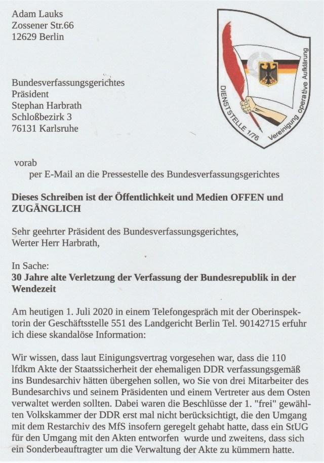 AR 5326/20 Bundesverfassungsgericht