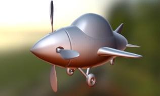 Plane Sketchfab Screen Grab
