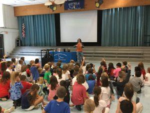 Doyle Elementary School Visit