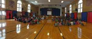 Slackwood Elementary School Visit