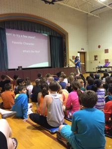 West Broad Elementary School Visit