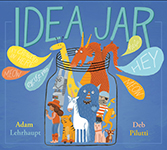 Idea Jar by Adam Lehrhaupt cover