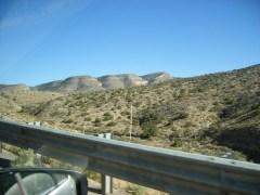 Driving up Sacramento Mountains