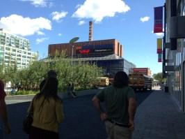 Walking through Ontario Square