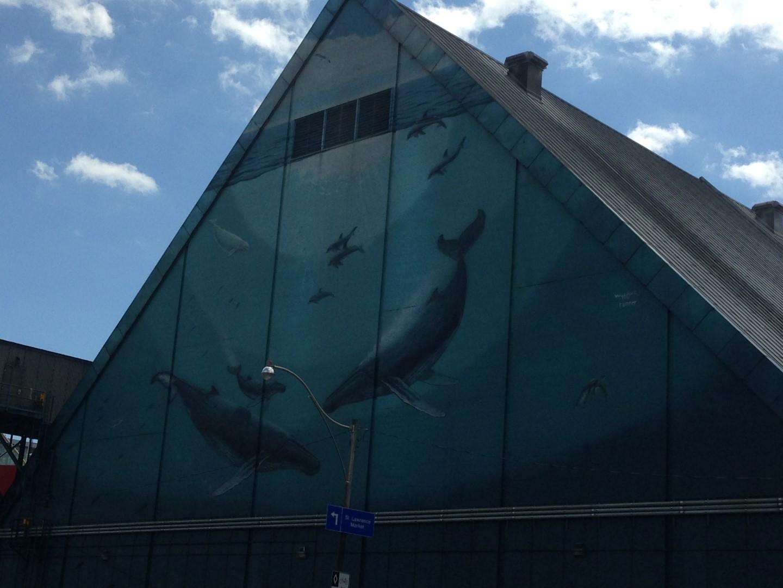 Mural near St. Lawrence Market