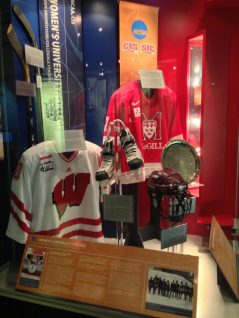 Wisconsin Badgers - Womens team representing at the HHOF