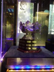 Frank J. Selke Trophy at the Hockey Hall of Fame