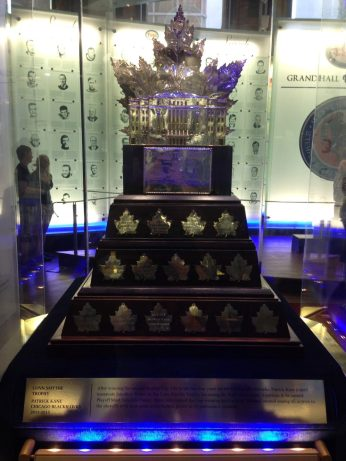 Conn Smythe Trophy at the Hockey Hall of Fame