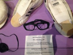 D.M.C. Eyeglass Frames and Tennis Shoes, c. 1985