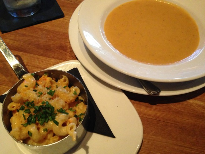 Devons - Lobster Mac & Cheese and Bisque