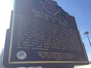 Birthplace of Rock 'N' Roll plaque