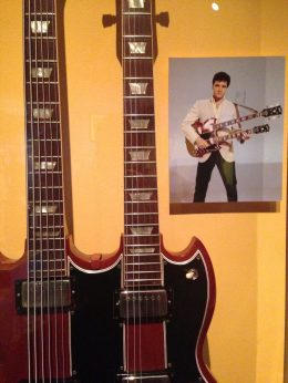 Elvis' 1965 Gibson EBS-1250 Double Bass