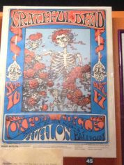 Grateful Dead poster - Avalon Ballroom 9/16-17/66