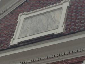 Sign on the Free Quaker Meeting House, Philadelphia