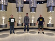 Martin men with the Superbowl trophies