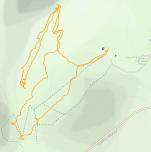 GaiaGPS hiking data @ Cummins Falls State Park