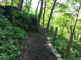 Effigy Mounds National Monument - Climbing the bluff towards Fire Point