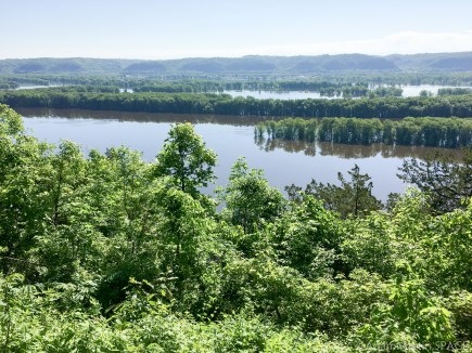Effigy Mounds National Monument - View from Fire Point