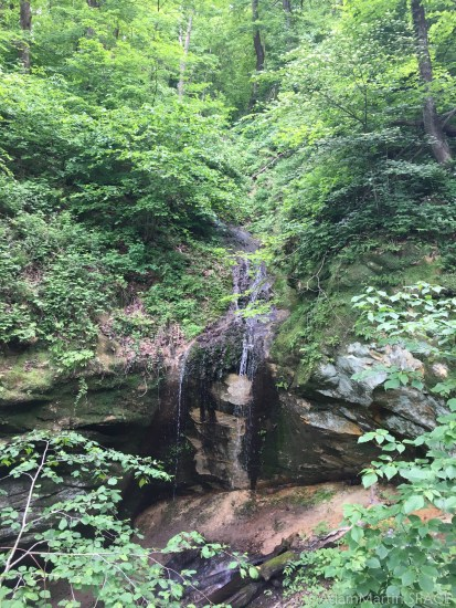 Wyalusing State Park - Little Sand Cave falls