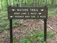 Wyalusing State Park - Nature trail sign