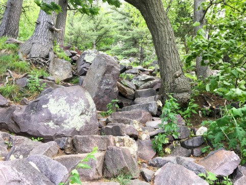 Devils Lake State Park - Balanced Rock Trail
