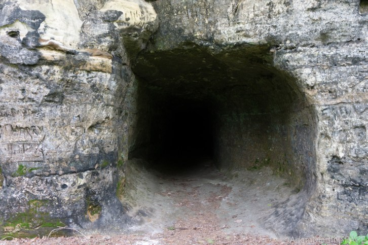 Tower Hill State Park - Entrance to the Shot Tunnel