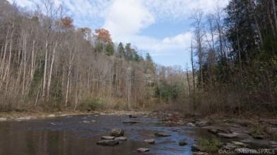 Cummins Falls State Park - View across the Blackburn Fork State Scenic River