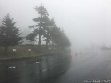Clingmans Dome - Parking lot view