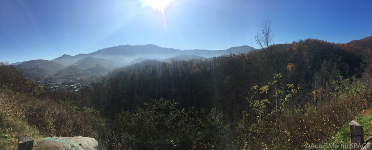 Gatlinburg Bypass - Scenery at one of the overlook pullouts
