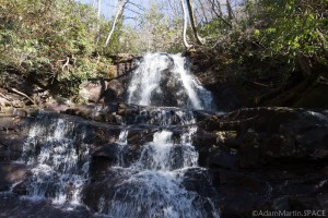 Laurel Falls - View from the trail