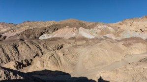Death Valley - Colors from oxidized metals on Artists Drive