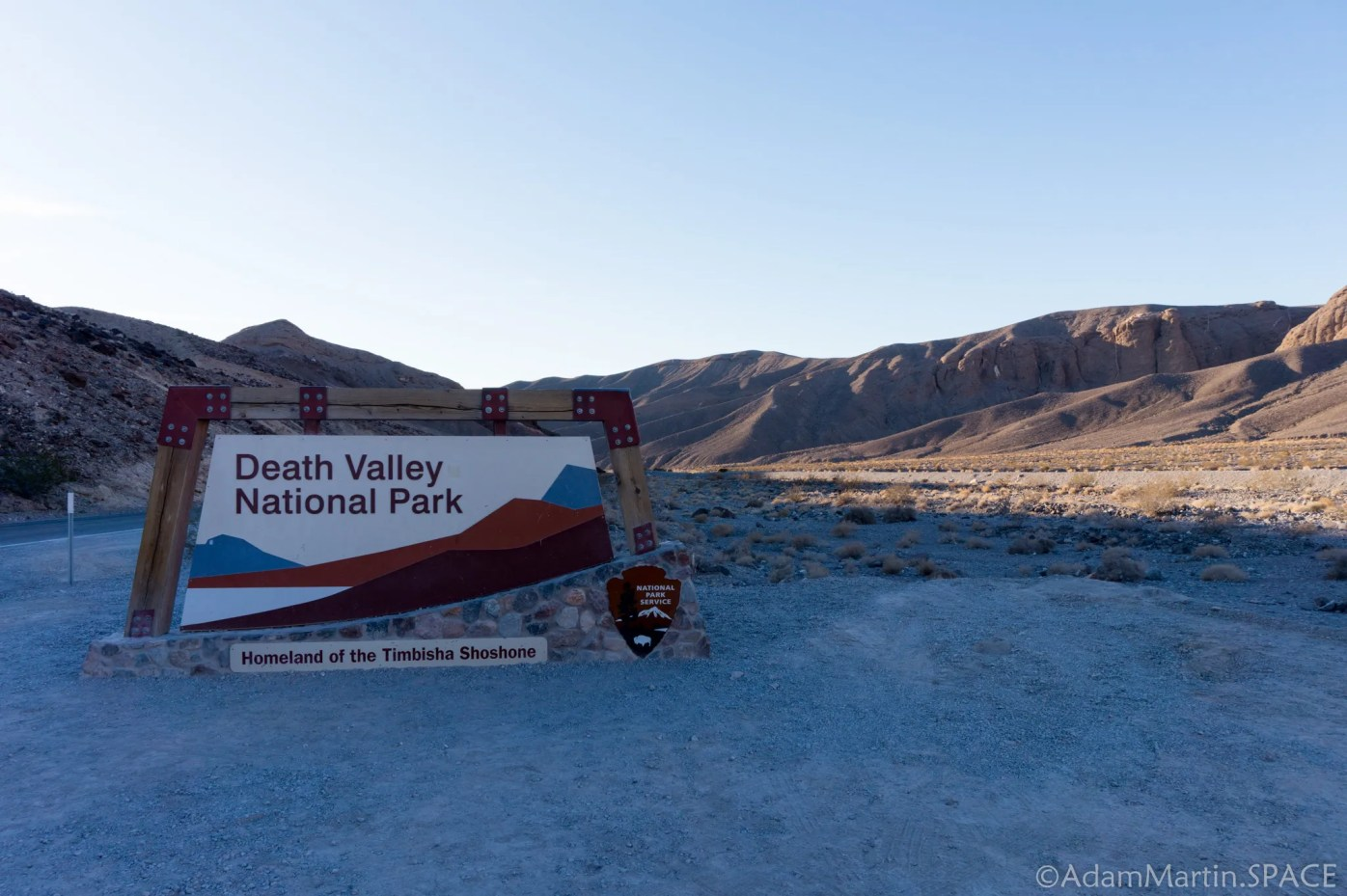 Death Valley National Park - Entrance Sign