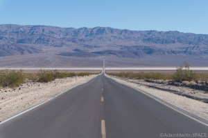 Death Valley - Driving away from Panamint Springs towards Towne Pass
