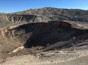 Death Valley - View of Little Hebe crater