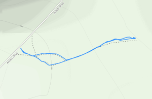 GaiaGPS hiking data @ Death Valley - Artists Drive