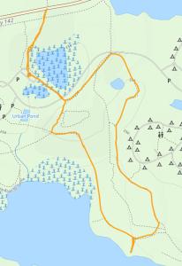 GaiaGPS hiking data @ Bong SRA Green Trail