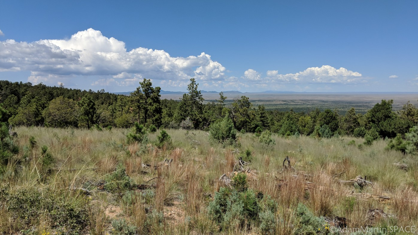 New Mexico Elk Hunt – Views from on top of the mountain