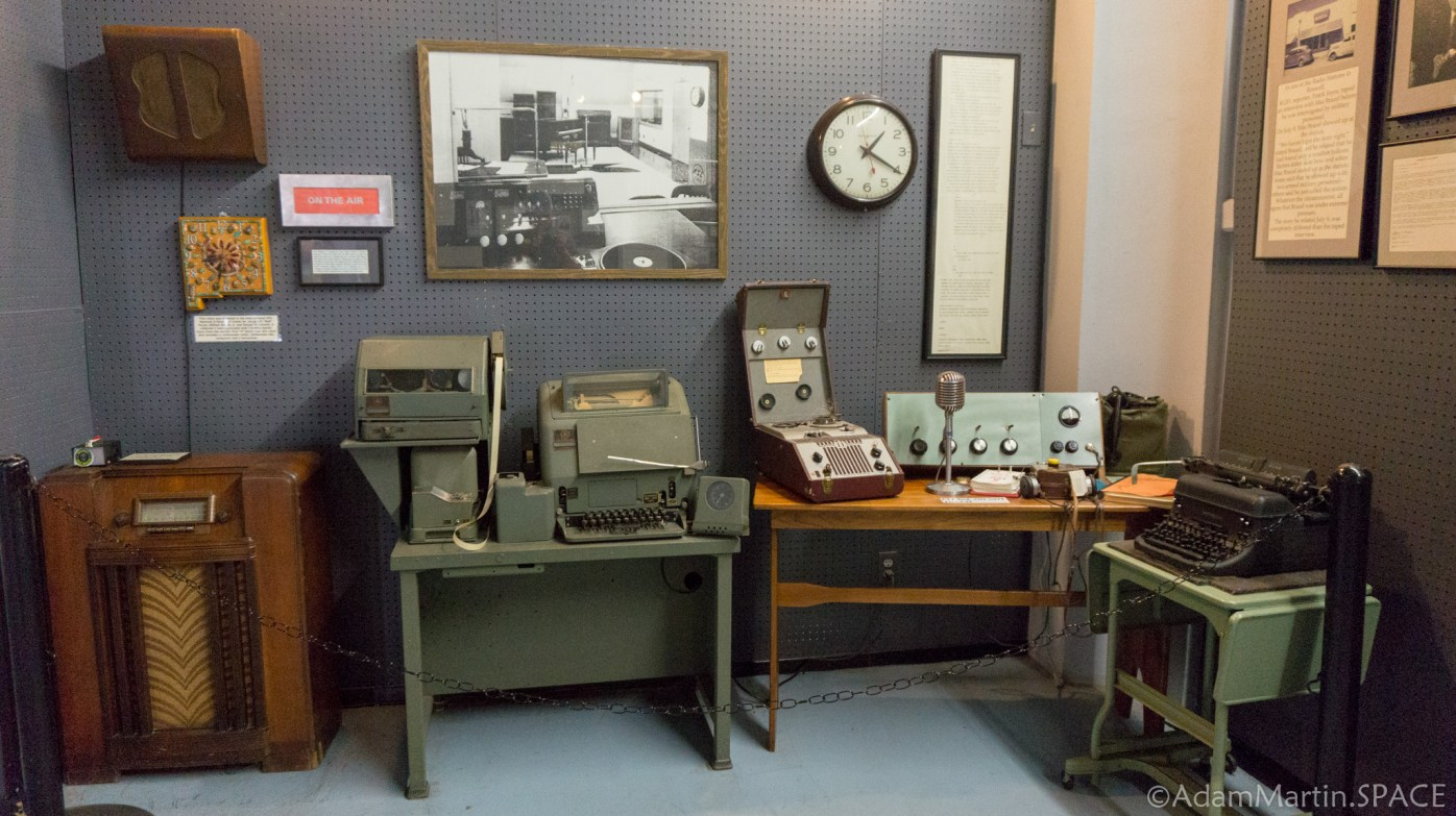 Roswell UFO Museum - Radio Equipment