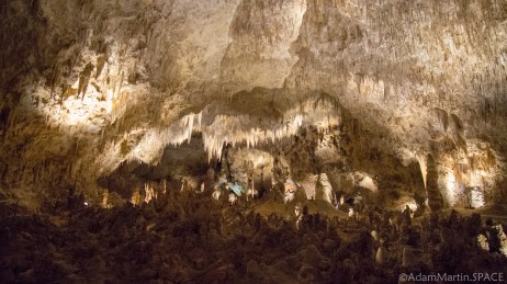 Carlsbad Caverns National Park - Views in the Big Room