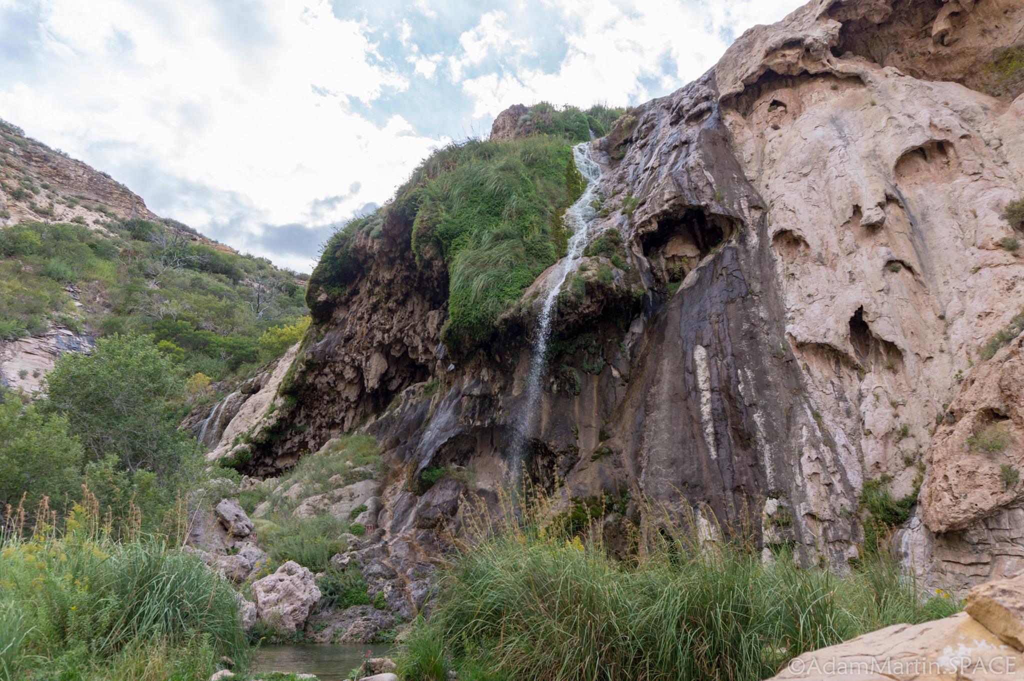 Sitting Bull Falls - Main Falls
