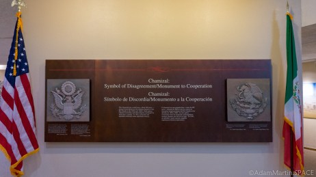 Chamizal National Memorial - Peaceful Cooperation Plaque
