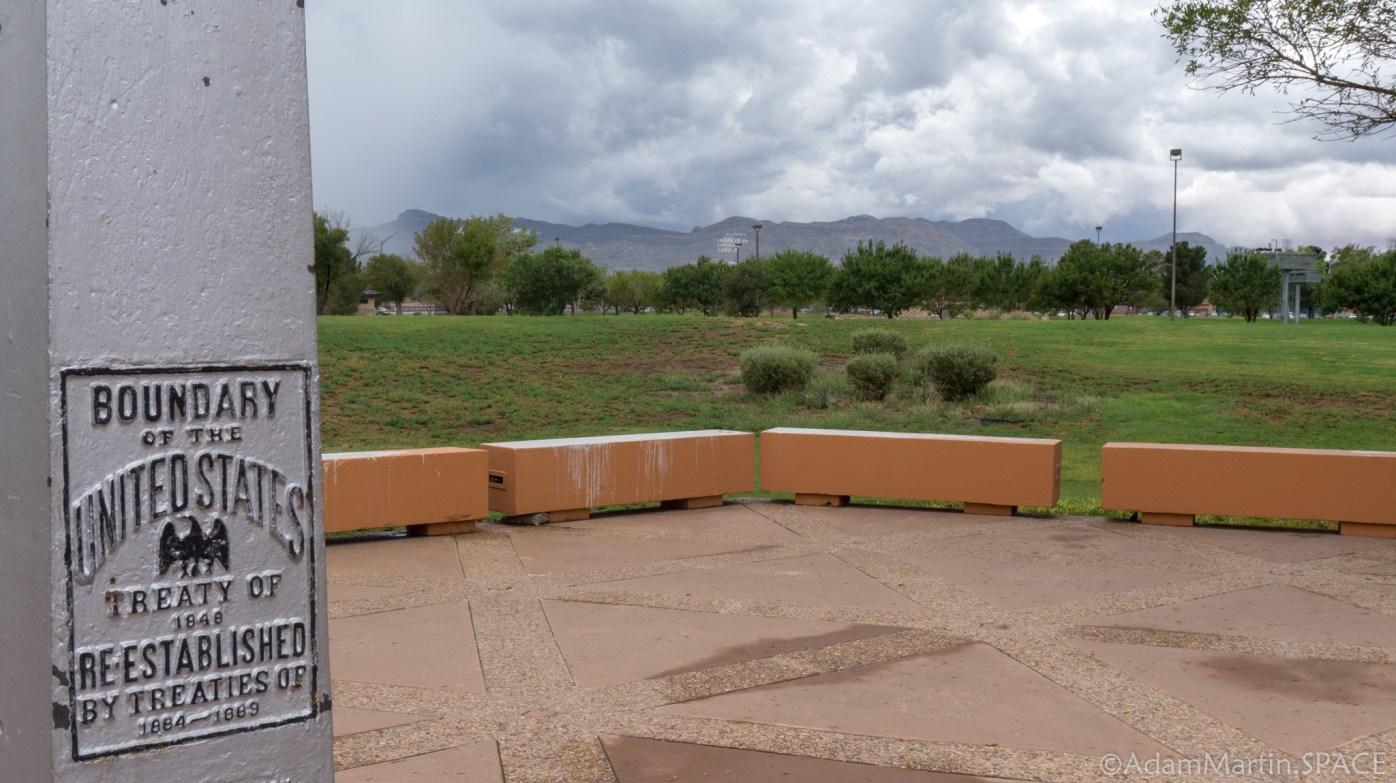 Chamizal National Memorial - View of Ciudad Juarez