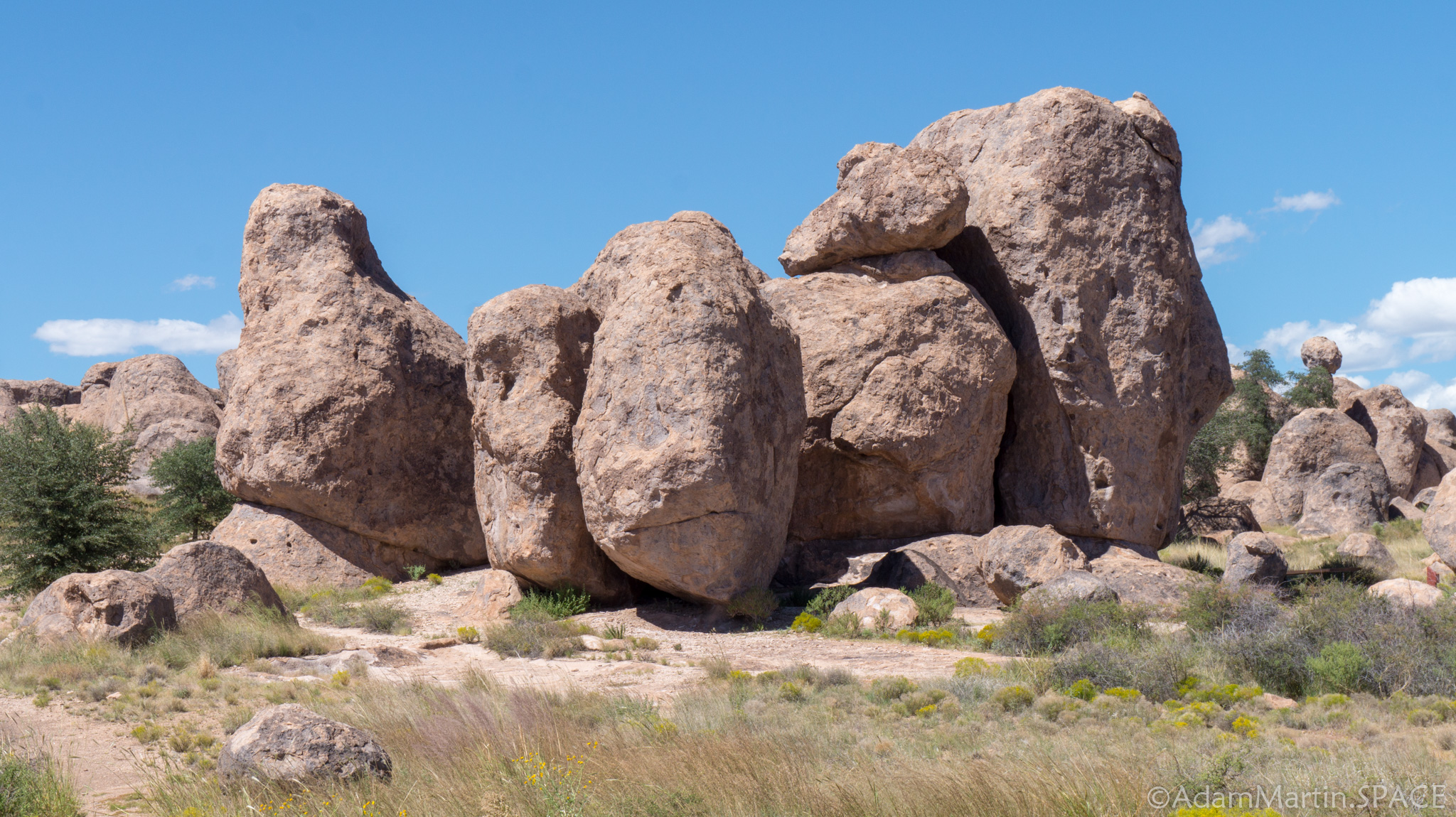 City of Rocks State Park – Rock formations
