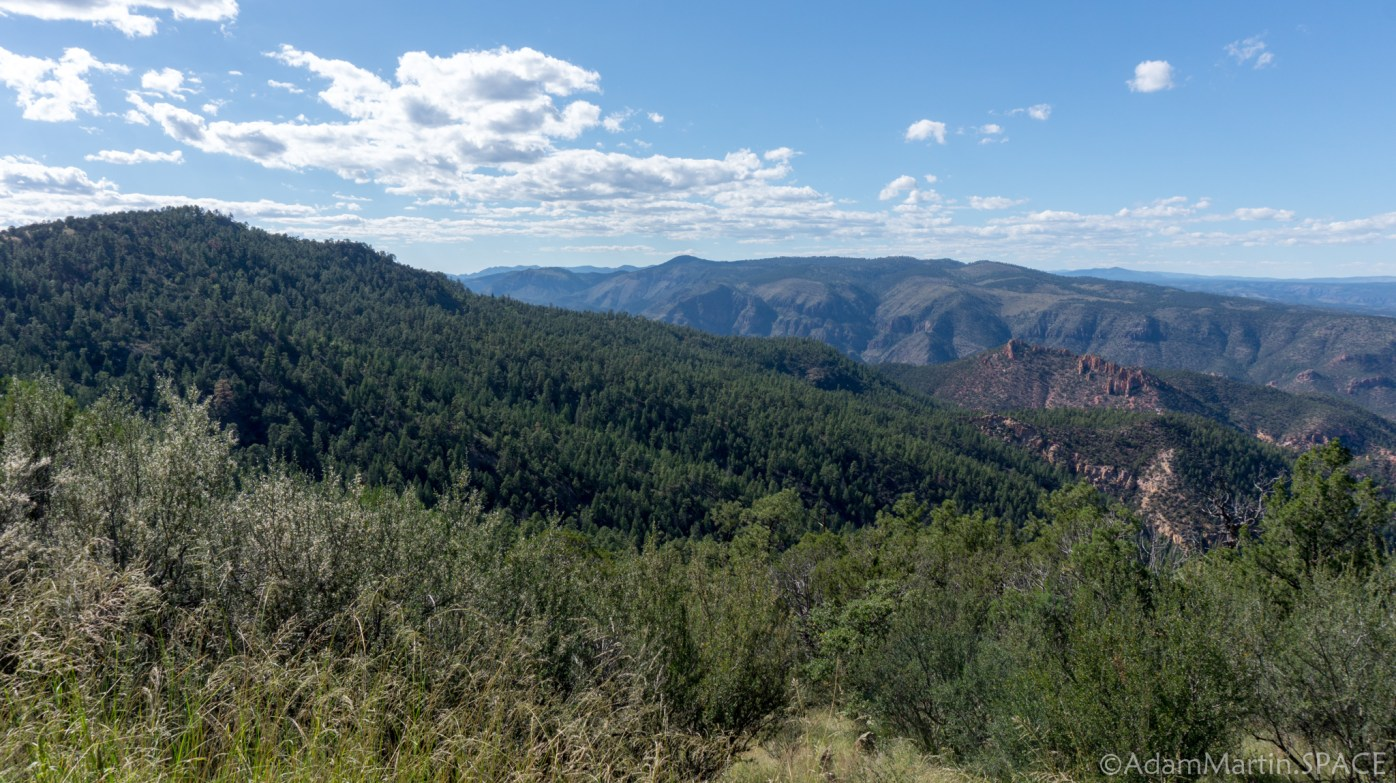 Gila National Forest – View from Senator Clinton P Anderson Overlook