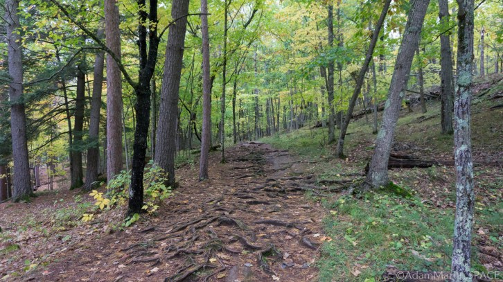 Piers Gorge – Hiking Trail on Michigan Side