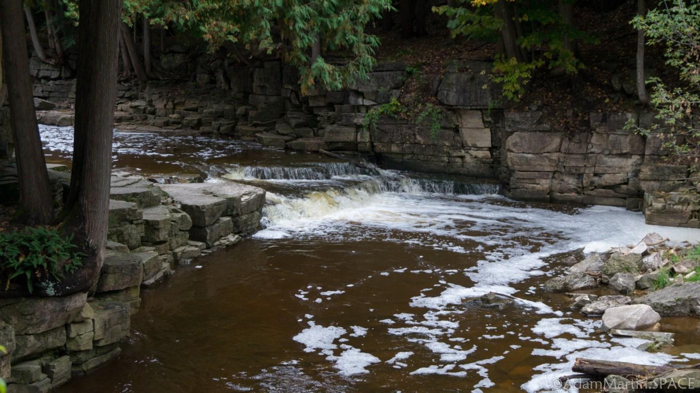 Devils River Falls - Small Downstream Falls