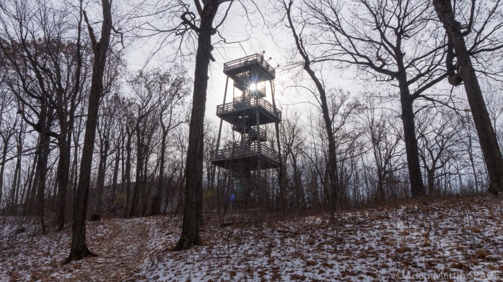 Kettle Moraine Pike Lake Unit - Powder Hill Observation Tower