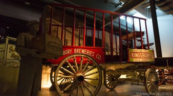 Old Wade House - Kingsbury Breweries Co carriage